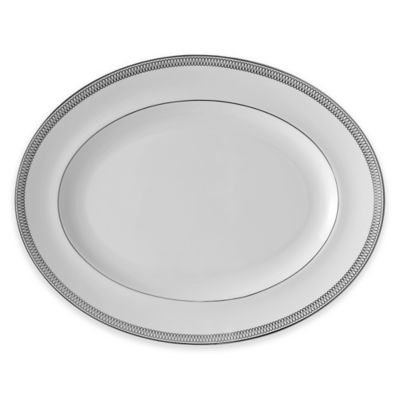 Monique Lhuillier Waterford® Opulence 13.5-Inch Oval Platter