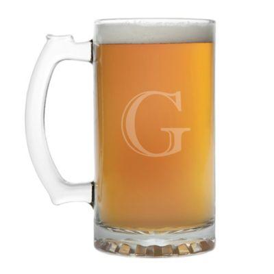 Initial Beer Mug