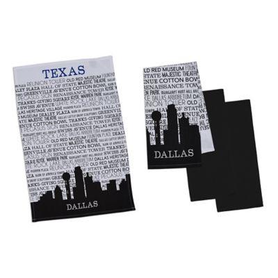 Dallas Kitchen Towels (Set of 4)