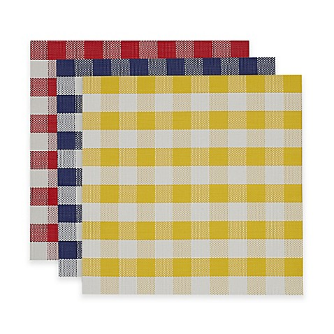 Checkers Placemats Set Of 6 Bed Bath Amp Beyond
