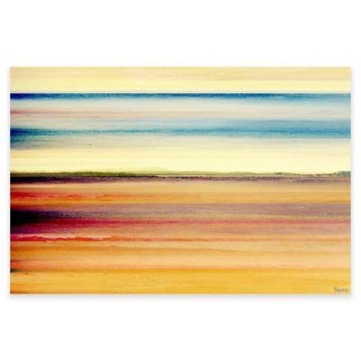 Parvez Taj 18-Inch x 12-Inch Desert Colors Canvas Wall Art