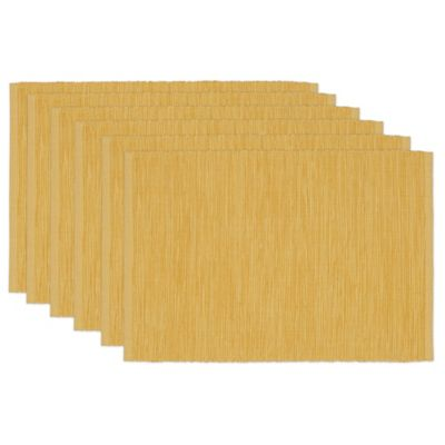 Honey Mustard Tonal Placemat (Set of 6)