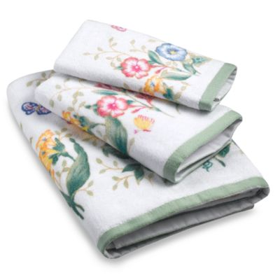 Lenox® Butterfly Meadow® Multi-Colored Fingertip Towel
