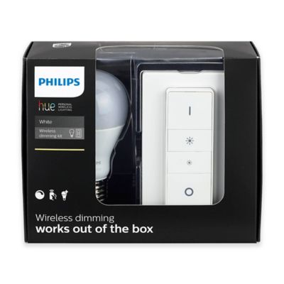 buy philips hue dimmer switch from bed bath beyond. Black Bedroom Furniture Sets. Home Design Ideas