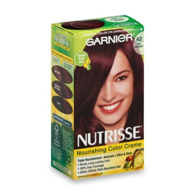 Garnier® Nutrisse Nourishing Color Crème in 42 Deep Burgundy