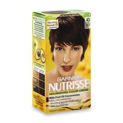 Garnier® Nutrisse Nourishing Color Crème in 43 Dark Golden Brown