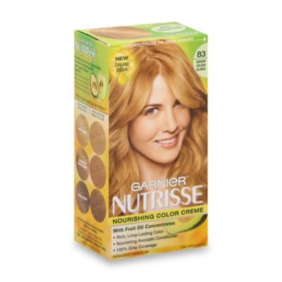 Garnier® Nutrisse Nourishing Color Crème in 83 Medium Golden Blonde
