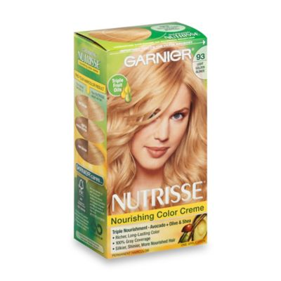Garnier® Nutrisse Nourishing Color Crème in 93 Light Golden Blonde
