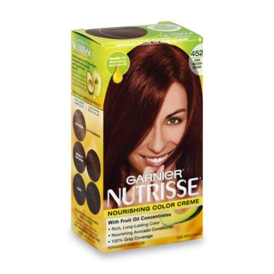 Garnier® Nutrisse Nourishing Color Crème in 452 Dark Reddish Brown