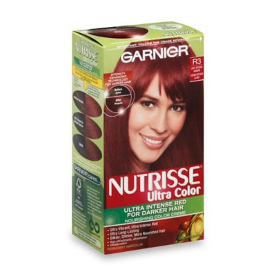 Garnier® Nutrisse® Ultra Color Nourishing Color Crème in Light Intense Auburn