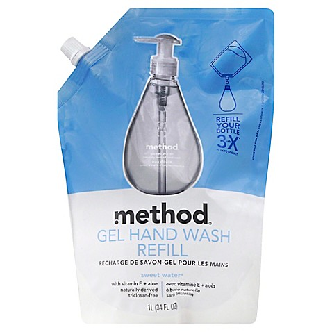 Method 174 34 Oz Gel Hand Wash Refill In Sweet Water Www