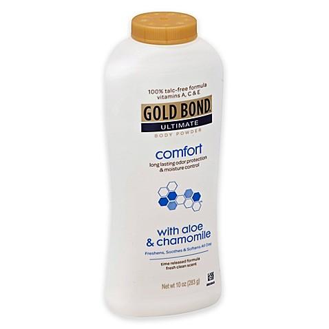 Gold Bond 174 10 Oz Ultimate Comfort Body Powder In Aloe