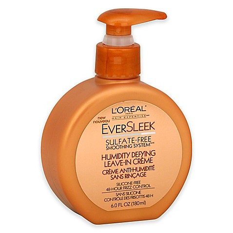 L'Oreal® 6 oz. EverSleek Humidity Defying Leave-In Crème ...