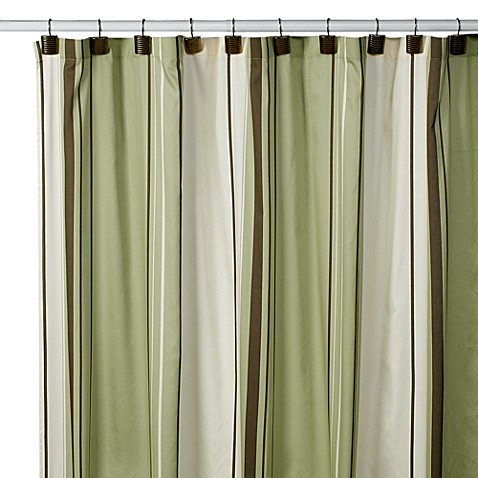 West End Green 54 Inch X 78 Inch Stall Shower Curtain