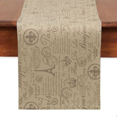 French Flourish Table Runner