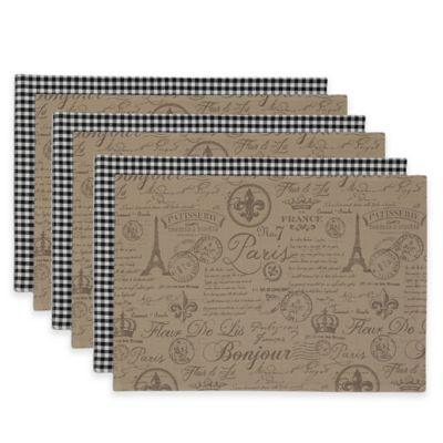 French Flourish Placemat (Set of 6)