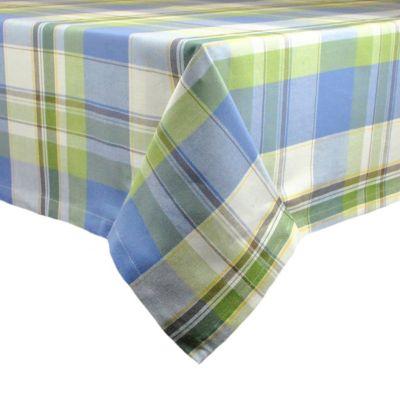 Lake House Plaid 52-Inch x 52-Inch Tablecloth