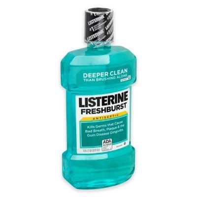 Listerine® Antiseptic Mouthwash Dental Care