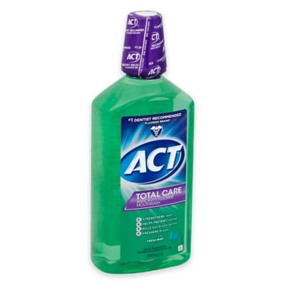 Act® Total Care 18 oz. Anticavity Fluoride Mouthwash in Fresh Mint