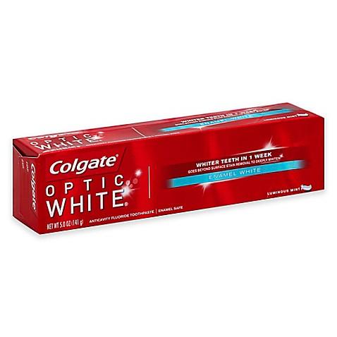 Colgate 174 5 Oz Optic White Anticavity Fluoride Toothpaste