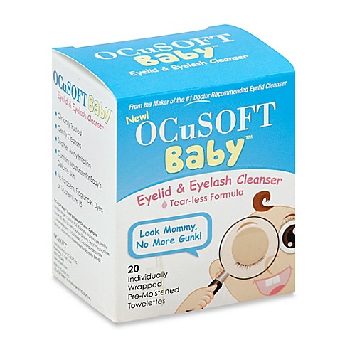 Buy Ocusoft Baby 20 Count Eyelid And Eyelash Cleanser Pre