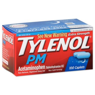 Tylenol® PM 100-Count Extra Strength Caplets