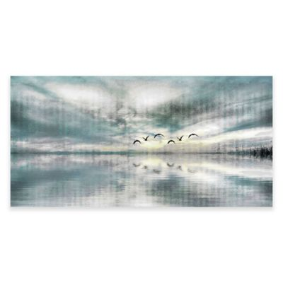 Parvez Taj Birds Skylight 60-Inch x 30-Inch Canvas Wall Art
