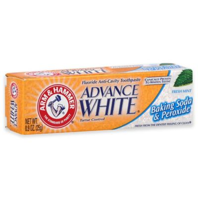 Arm and Hammer® .9 oz. Advance White Baking Soda and Peroxide Toothpaste in Fresh Mint
