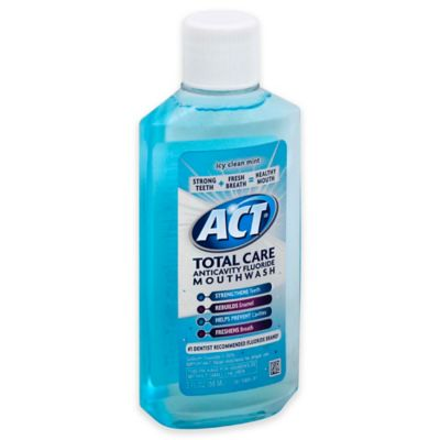 ACT® Total Care 3 oz. Anticavity Fluoride Mouthwash in Icy Clean Mint