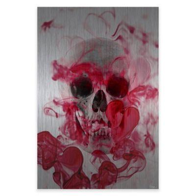Parvez Taj Skull 2 30-Inch x 45-Inch Aluminum Wall Art