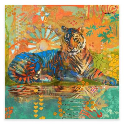 Marmont Hill South China Tiger 32-Inch x 32-Inch Canvas Wall Art
