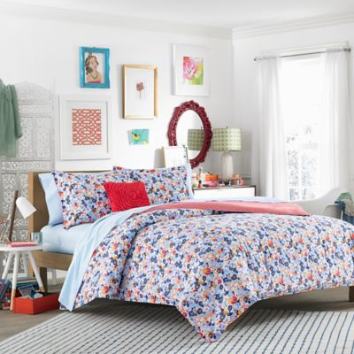 Blue Yellow Twin Comforter Sets