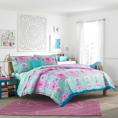 Teen Vogue® To Dye For 2-Piece Twin Comforter Set in Light Purple