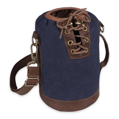 Picnic Time® Growler Tote in Navy