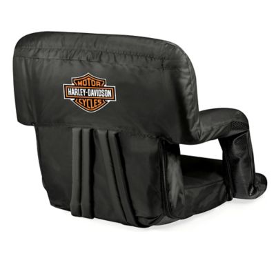 Picnic Time® Harley-Davidson Ventura Portable Backpack Seat in Black