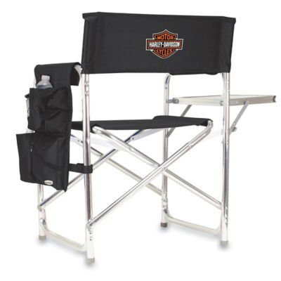 Picnic Time® Harley-Davidson Folding Sports Chair in Black
