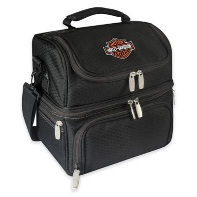Picnic Time® Harley-Davidson Pranzo Lunch Tote in Black