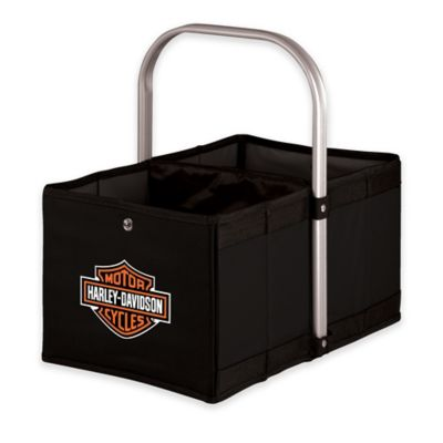 Picnic Time® Harley-Davidson Urban Basket in Black