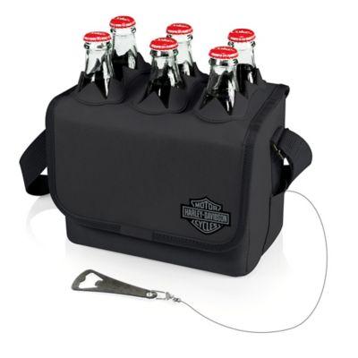Picnic Time® Harley-Davidson® Six-Porter Beverage Tote