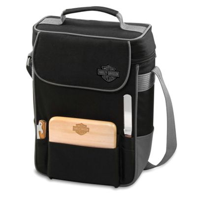 Picnic Time® Harley-Davidson® Duet Insulated Wine and Cheese Tote