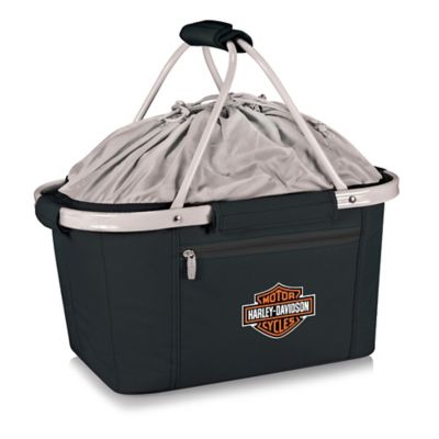 Picnic Time® Harley-Davidson Metro Basket in Black