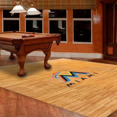 MLB Miami Marlins Foam Fan Floor