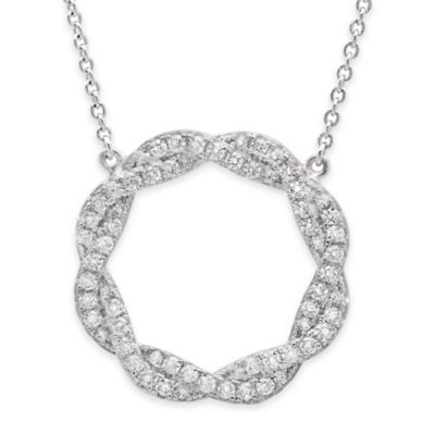 Platinum Pendant Necklace