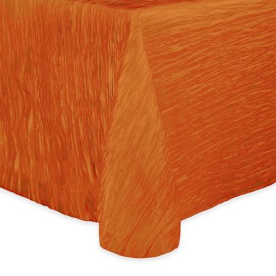 Delano 50-Inch x 90-Inch Oblong Tablecloth in Fire Orange