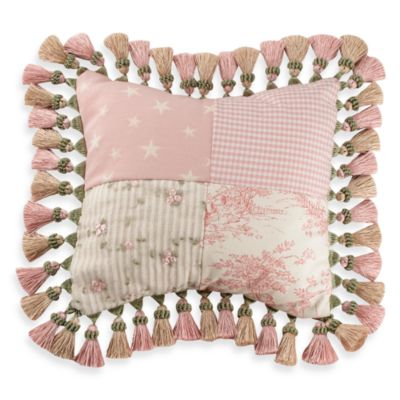 Glenna Jean Isabella Patch Pillow