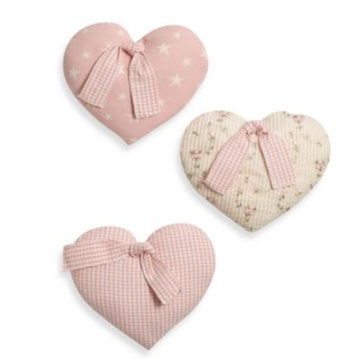Glenna Jean Isabella 3-Piece Heart Wall Hanging Set