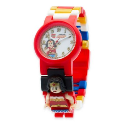 LEGO® DC Comics™ Super Heroes Wonder Woman Buildable Watch with Minifigure