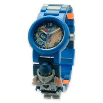 Lego® Nexo Knights Clay Minifigure Watch with Interchangeable Link Band