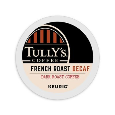 Keurig® K-Cup® Pack 18-Count Tully's® French Roast Decaf Dark Roast Coffee
