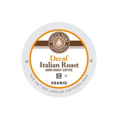 Keurig® K-Cup® Pack 18-Count Barista Prima Coffeehouse® Decaf Italian Roast